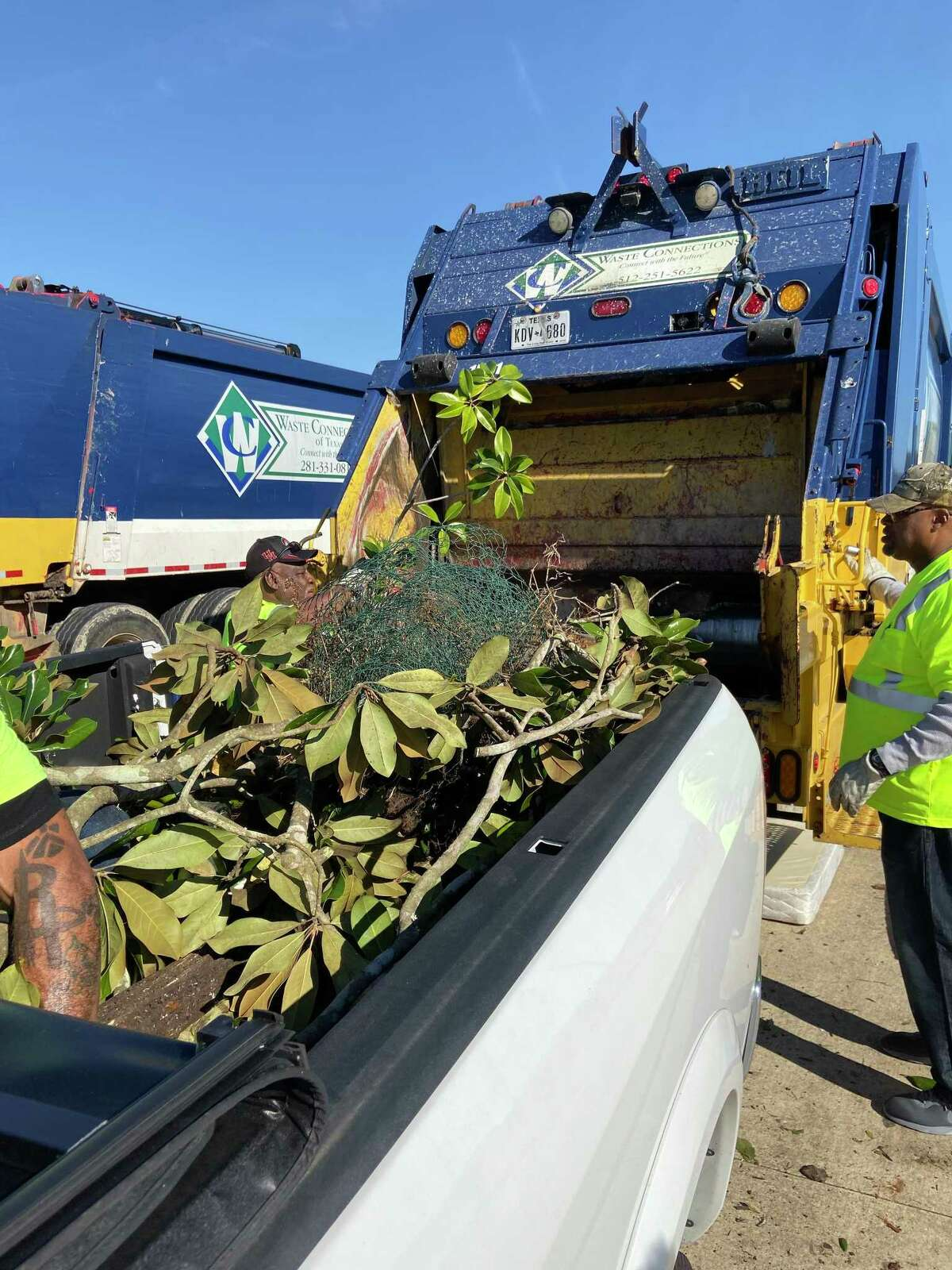Nearly 160,000 pounds of different types of trash, including almost 9,400 pounds of electronic wastes, were collected at the city of Friendswood's Fall Haul this year.