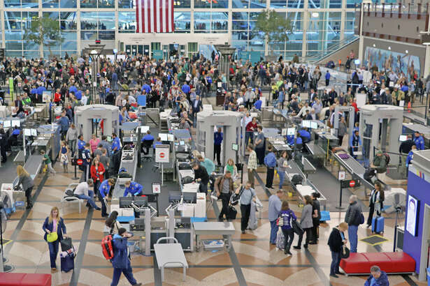 TSA expects airport screening lines to increase by 600,000-700,000 travelers a day around Thanksgiving.