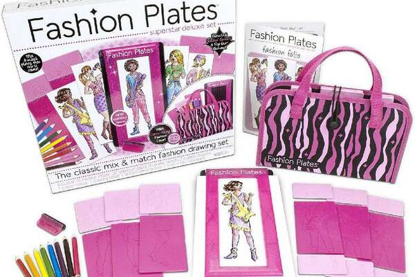 Fashion Plates The concept of Fashion Plates has existed since the 18th century, but the toy version released by Tomy Toys in 1977 really caught on in the 1980s. Young girls could easily play fashion designer by snapping a wide array of outfit pieces into a base, and using a black crayon to trace the outline onto a piece of paper. Colored pencils and fabric patterns were then used to bring life to Fashion Plates, which were resurrected in 2014 by the toy company Kahootz. [Pictured: Kahootz Fashion Plates for sale on Amazon in 2019.] You may also like: 10 toxic cleaning products and their natural alternatives This slideshow was first published on theStacker.com