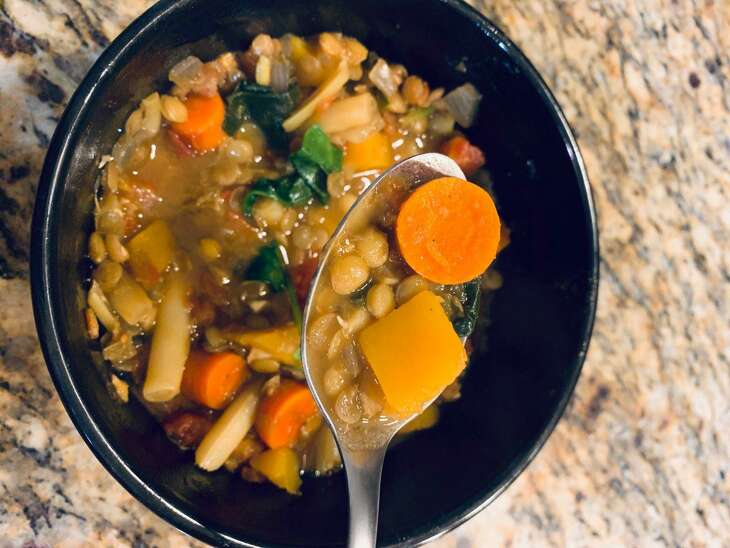 For National Diabetes Month, Renew Houston is sharing a diabetes-friendly recipe each week. This week's recipe is Lentil and Butternut Squash Soup from CHI-St. Luke's Hospital-Sugar Land.