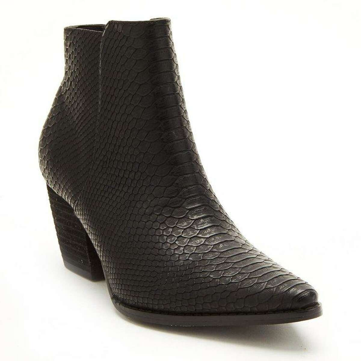 5. Astoria Ankle Booties, Wildflower ThreadsFor the fashionista, these Astoria Booties are a go-anywhere wardrobe staple. The boots feature a snake-print upper layer of raw leather, but the inside of the boot is lined with soft padding, so it's comfortable for all-day wear. Owner Alex Orlando, a graduate of James E. Taylor High School, recommends pairing the booties with skinny jeans, corduroys or a short dress.Astoria Ankle Booties, $89.95Wildflower Threads5625 Third St.www.bemywildflower.com