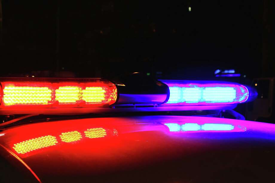 A view of police lights by night. Photo: TNS / Dreamstime