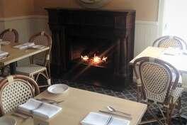 Backstreet Cafe fireplace