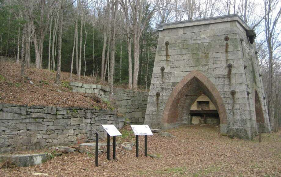 A Nov. 30 Roxbury Land Trust hike will trace the geological history of Mine Hill and its associated iron deposits as illustrated through rock exposures, along with its relationship to the building of the Appalachian Mountains. Photo: Courtesy Of Roxbury Land Trust / The News-Times Contributed