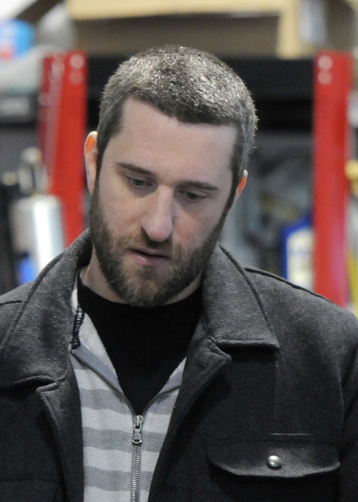 """Actor Dustin Diamond, shown on the set of a 2013 film, will be at the red-carpet premiere on Thursday, Nov., 21, 2019, in Glens Falls of a new movie, """"Catching Up."""""""