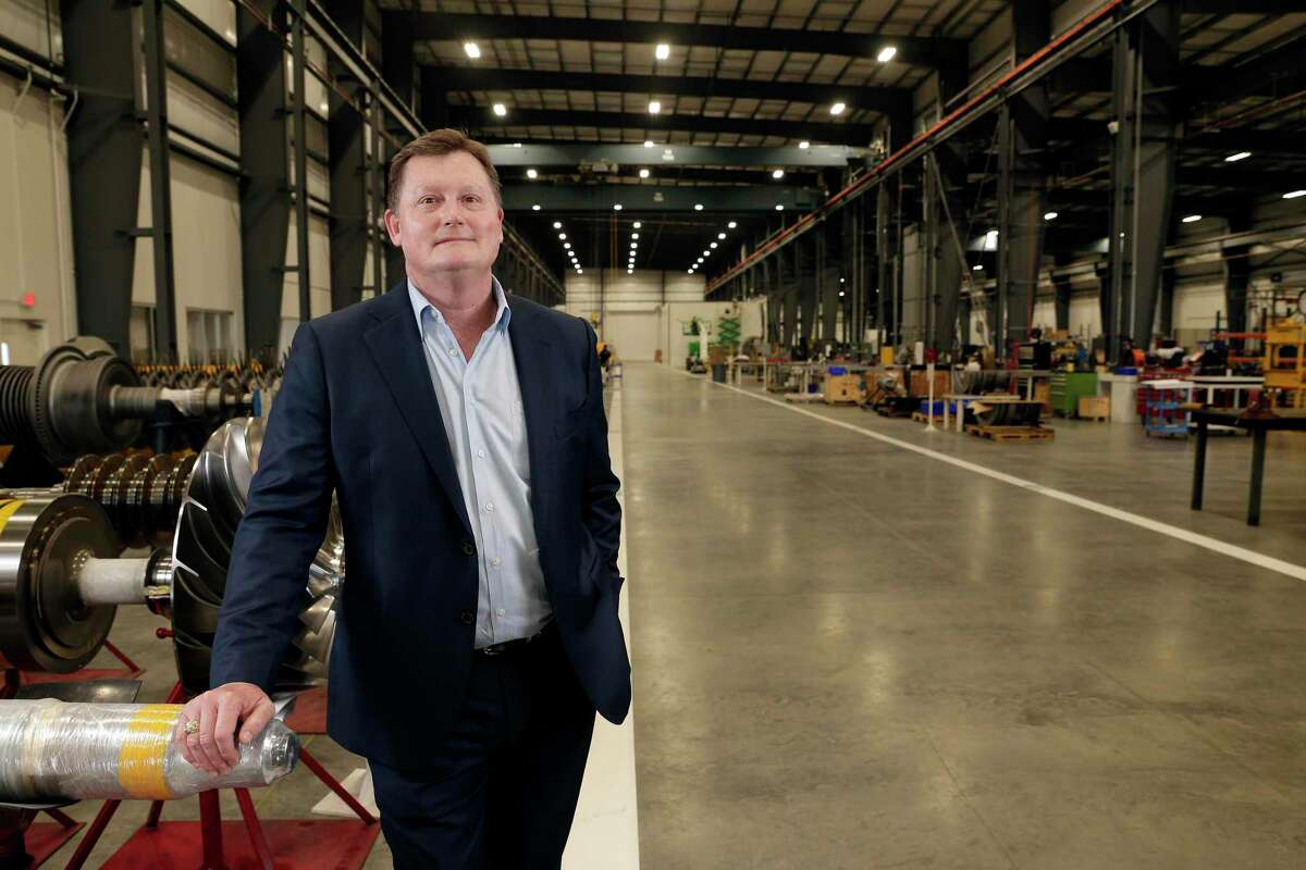 Keith Dalton, chief executive of design/build firm KDW, at the MAN Energy Solutions manufacturing facility that KDW designed and built in Brookside.