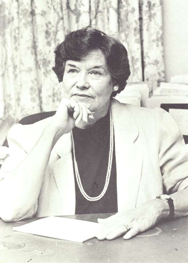 Jacky Durrell (1927-2009) became Fairfield's first woman First Selectman in 1983. Photo: Contributed Photo / Contributed Photo / Connecticut Post Contributed