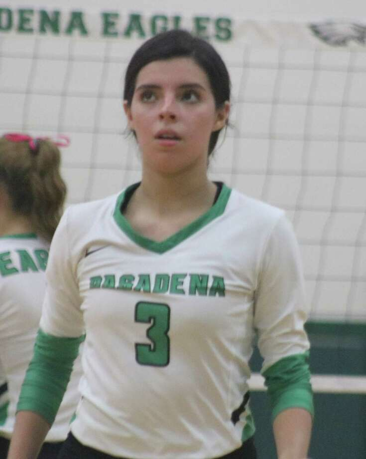 Pasadena's Ana Sanchez was one of five Lady Eagles named to the honorable mention list. Photo: Robert Avery