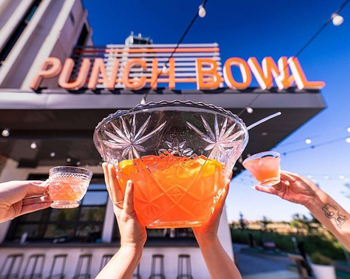 Punch Bowl Social's mix of food, drink and fun is coming to the Houston neighborhood of Sawyer Yards this winter. (Photo credits: Punch Bowl Social Instagram).