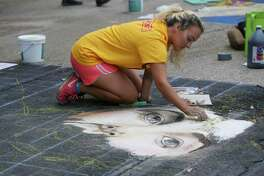Via Colori chalk-art festival to brighten downtown Houston streets