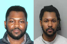 The U.S. Marshals Service is searching for Leroy Headley in connection to a South Burlington, Vermont, homicide. Police believe Headley killed the woman he lived with on May 3, 2018. Just over two weeks later, his car was found abandoned on Sherman Street in Albany, N.Y. Both photos are of Headley.