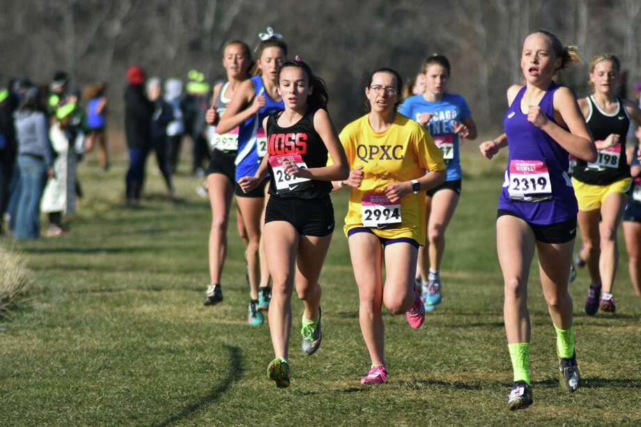 Cierra Guay races against some of the top runners in the Midwest. (Submitted photo/Traci Kelly) Photo: Submitted Photo