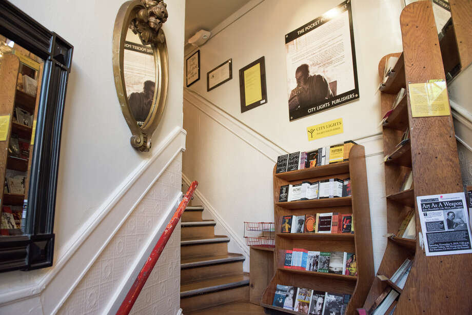 The Poetry Room, in City Lights Bookstore, is world renowned for its connection to the Beat Generation as well as having one of the nation's largest poetry collections. Photo: Blair Heagerty / SFGate