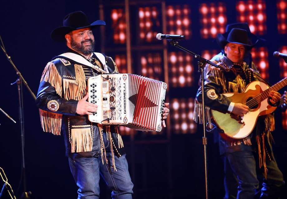 LAS VEGAS, NEVADA - NOVEMBER 14: Intocable performs onstage during the 20th annual Latin GRAMMY Awards at MGM Grand Garden Arena on November 14, 2019 in Las Vegas, Nevada. (Photo by Rich Fury/Getty Images) Photo: Rich Fury, Getty Images