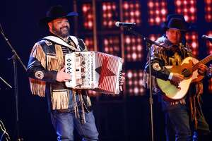 LAS VEGAS, NEVADA - NOVEMBER 14: Intocable performs onstage during the 20th annual Latin GRAMMY Awards at MGM Grand Garden Arena on November 14, 2019 in Las Vegas, Nevada. (Photo by Rich Fury/Getty Images)