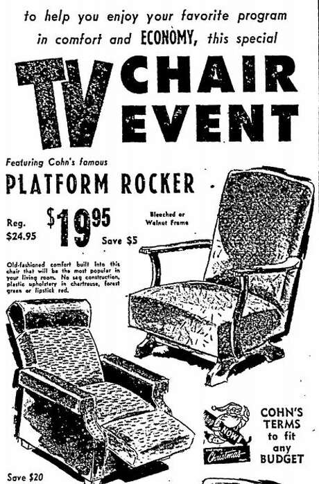 Cohn's advertisement published in the Houston Chronicle on Nov. 19, 1954.