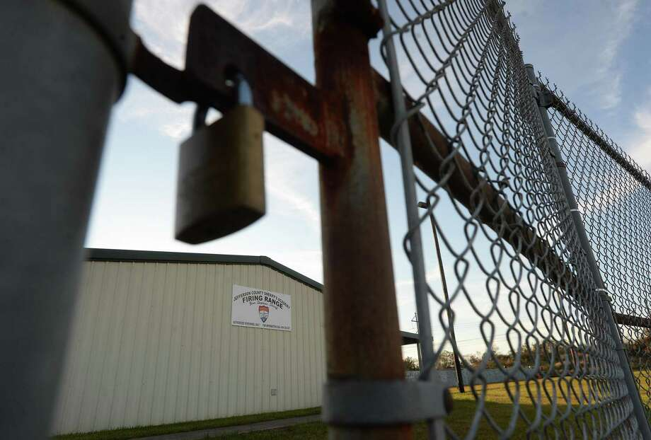 The Jefferson County Sheriff's Academy Firing Range has been shuttered for a year after safety concerns raised by Enterprise Products Operating, LLC, whose storage tanks and employees lie to the north of the facility and in the firing direction of the range. The company is donating nearly $1.6 million to the county to rebuild the range so that the firing direction points west and averts risk to the Enterprise tanks or personnel. Photo taken Tuesday, November 19, 2019 Kim Brent/The Enterprise Photo: Kim Brent / The Enterprise / BEN