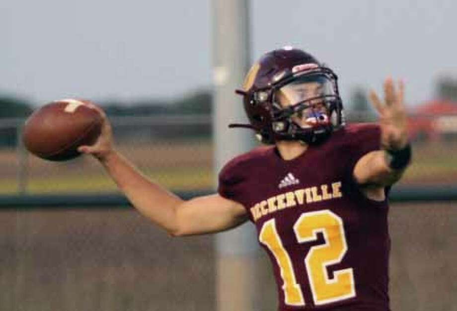 Deckerville's Isaac Keinath was named to NCTL's 2019 All-League offense and defense. Photo: Tribune File Photo
