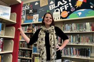 Jessica Prutting has taken the reins as children's librarian at the Shelton Library's Huntington branch.