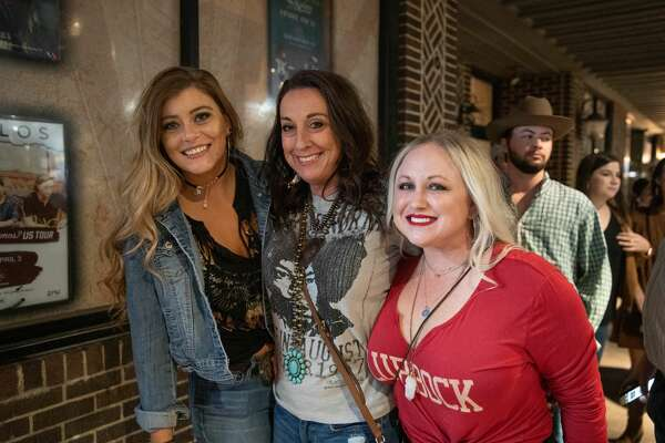 Ryan Bingham fans lined up to see the Los Angeles-based artist at the Aztec Theater Tuesday night, Nov. 19, 2019.