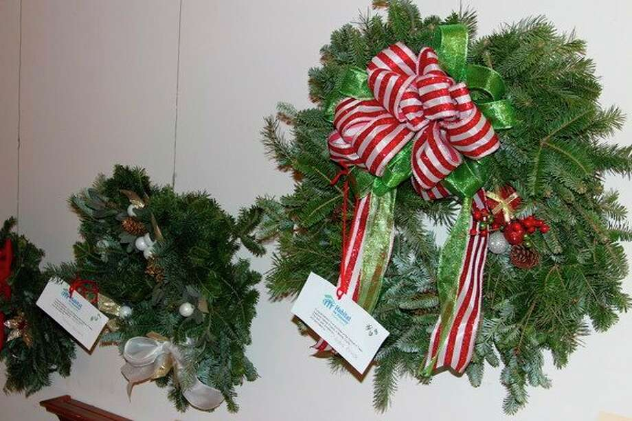 The Festival of Trees also features wreaths visitors can bid on and buy. (File Photo)
