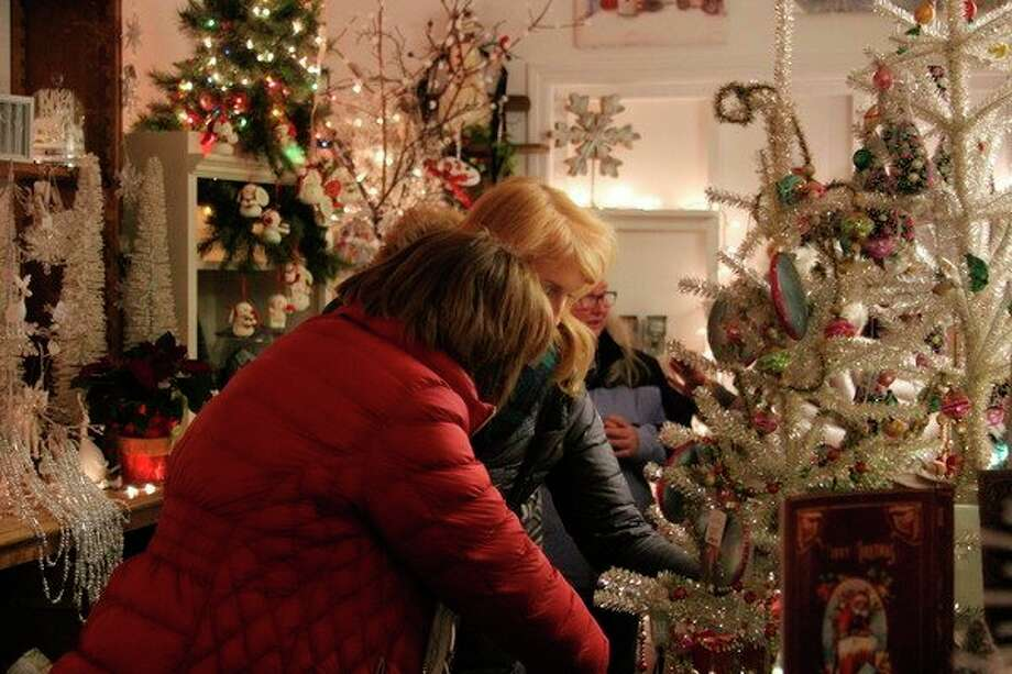 There will be Christmas decorations from wall to wall at the Holiday Night Lights, which will be held at Victoria's Floral Designs and theneighboring Hilltop Soda Shoppe. (File Photo)