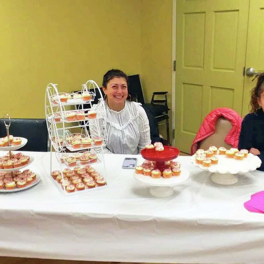 Bakers of various skill levels showed off their cupcake-making abilities during the first-ever New Fairfield Cupcake Bake-Off on Sunday, Nov. 17, 2019. The event was held at the senior center and sponsored by the New Fairfield Leos Club and Friends of the Senior Center. Photo: Contributed Photo / Samantha Petrillo
