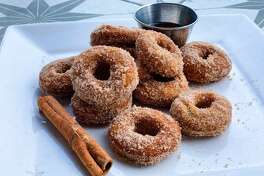 Adair Kitchen, 5161 San Felipe, is making mini apple cider donuts, priced at $5.99 per dozen, available through November.