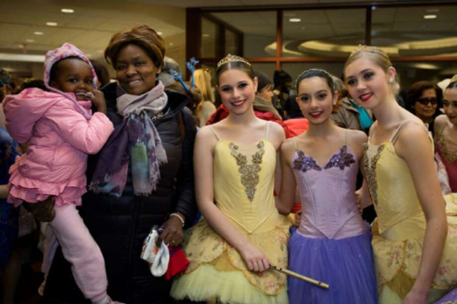 2018 Nutcracker Benefit show patrons with Emily Stute, Emma Scanlan and Caroline Meyer. Photo: Contributed Photo