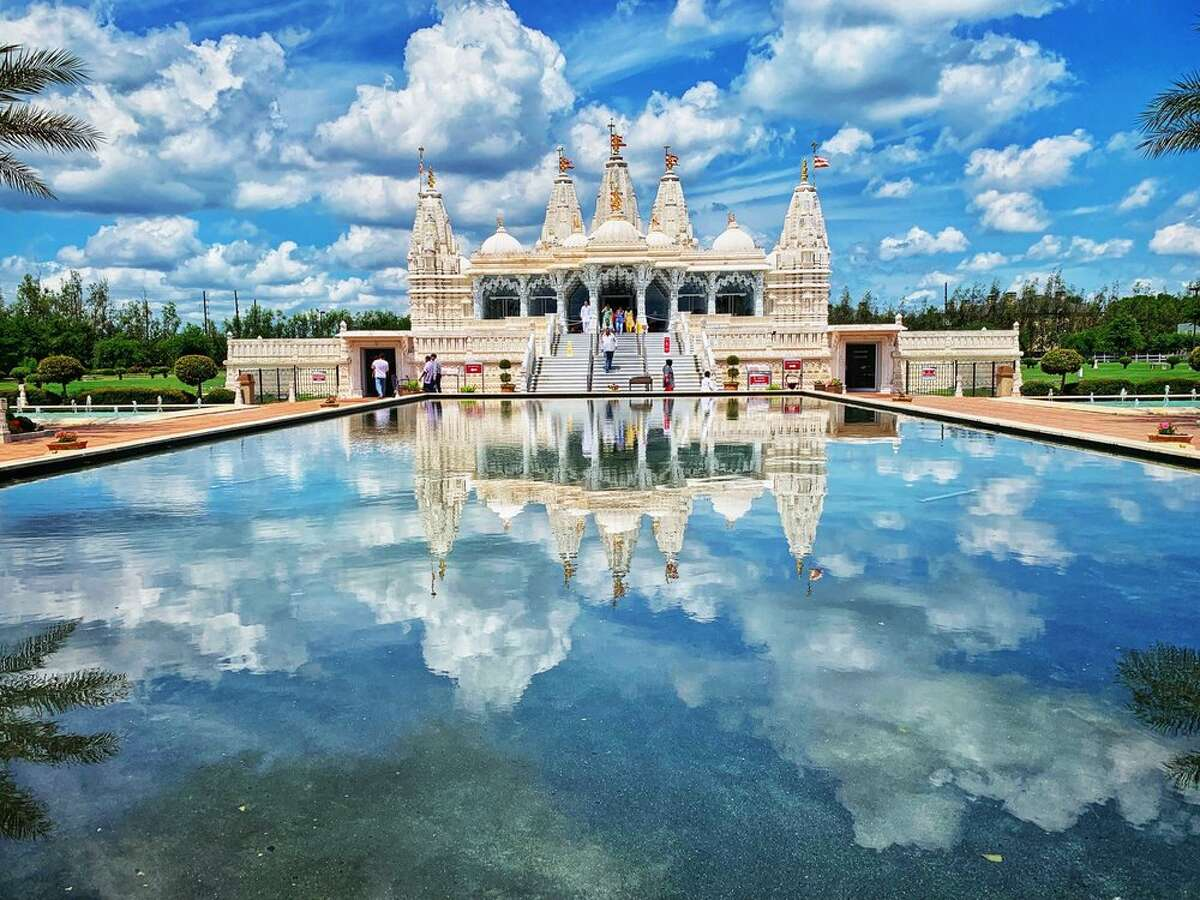 BAPS Shri Swaminarayan Mandir1150 Brand Lane, StaffordThis stunning Hindu temple and cultural center boasts a marble-clad sacred campus filled with jaw-dropping exhibitions, art and architecture. Photo by: Twee P/Yelp
