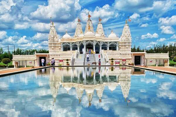BAPS Shri Swaminarayan Mandir 1150 Brand Lane, StaffordThis stunning Hindu temple and cultural center boasts a marble-clad sacred campus filled with jaw-dropping exhibitions, art and architecture. Photo by: Twee P/Yelp