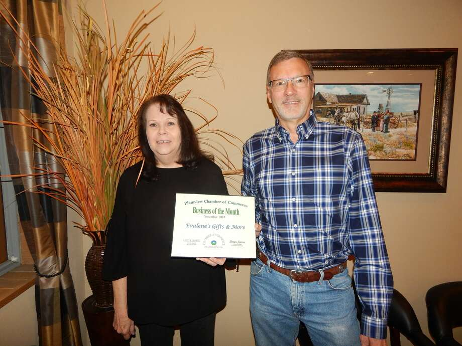 Evalene's Gifts & More was named the November Business of the Month. Photo: Courtesy Photos/Plainview Chamber Of Commerce