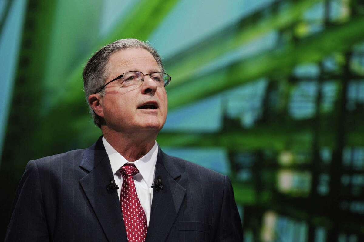 Former Chevron CEO John Watson says he expects oil and gas to be around for the long-term.