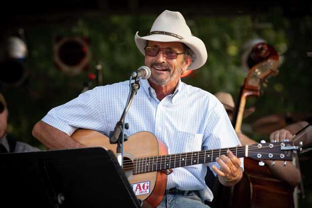 Marty Haggard performs at LeftyFest, a free festival which featured classic country performers in concert to honor Lefty Frizzell in Corsicana, Texas on Saturday, June 16, 2018. (Joyce Marshall / freelance )