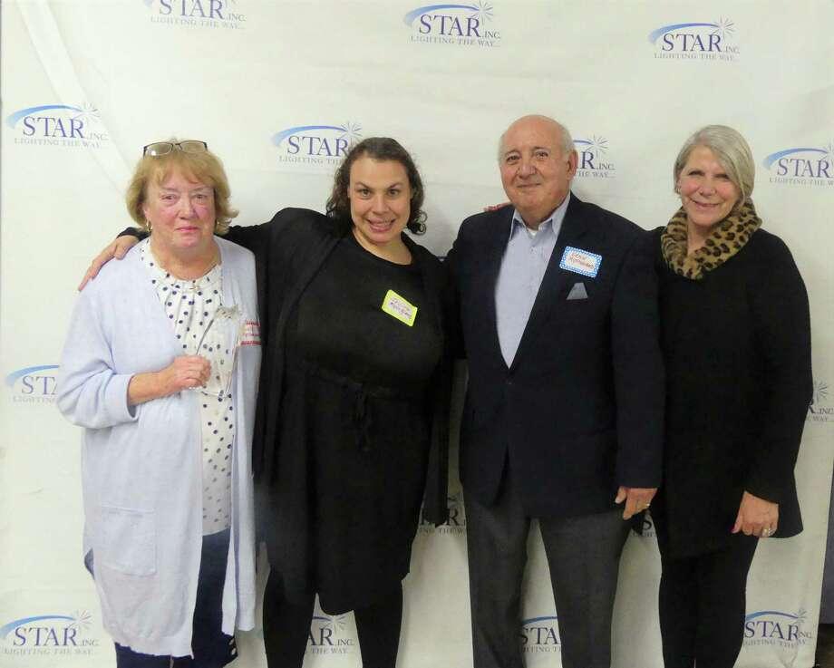 Susie, Jessenia and Ernie Mysogland with Cheryl Bergstrom of STAR. Photo: Contributed Photo