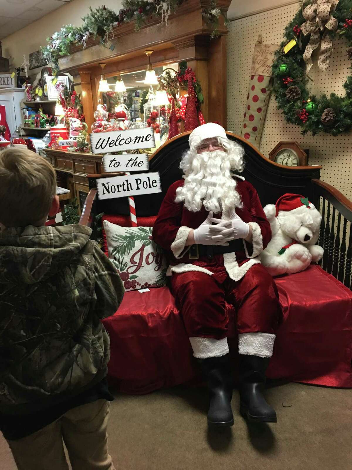 On Sunday, participate in the Annual Sneak Peek at Mimi's on Main for special sales and photos with Santa from noon until 4 p.m. Photos are free to take with your phone.