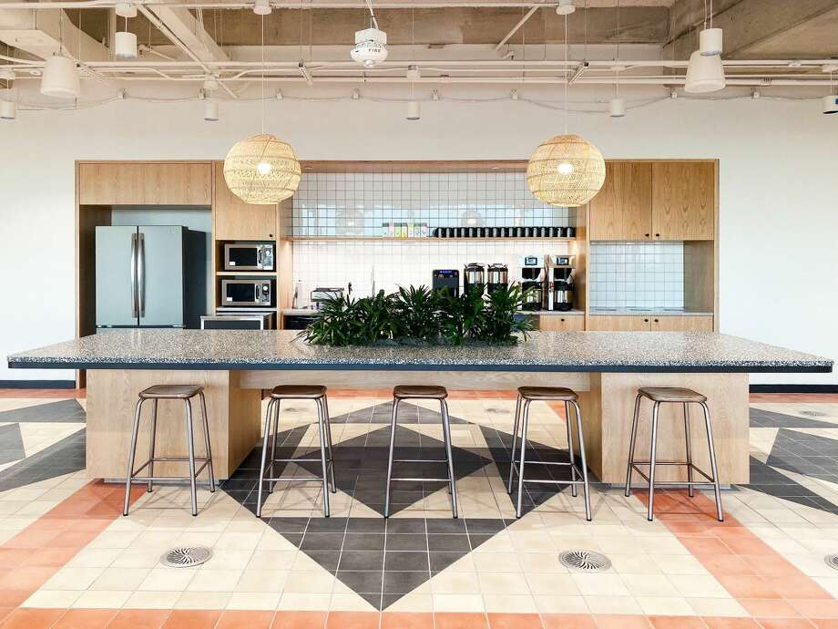 WeWork's new downtown Houston location at 609 Main. Photo: Courtesy Of WeWork