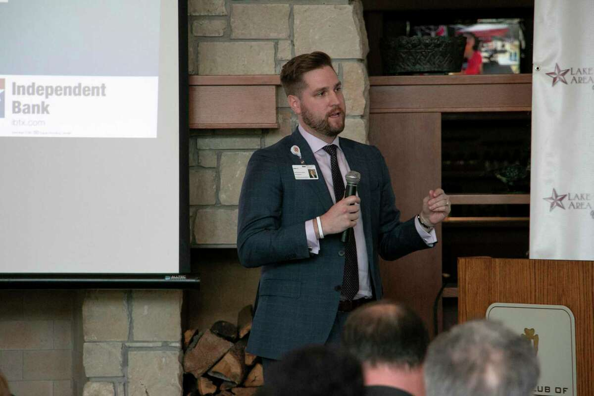 John Corbeil, CEO at HCA Houston Healthcare Kingwood, spoke at the Lake Houston Chamber of Commerce State of Healthcare luncheon on Nov. 19.