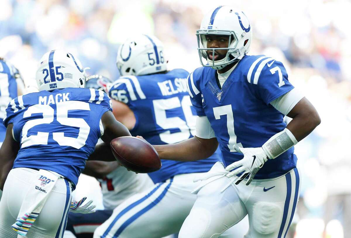 Colts quarterback Jacoby Brissett has had the Texans number in four starts against them, three wins with Indianapolis and one with New England.