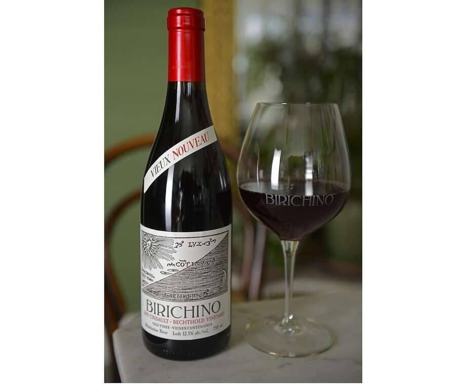 "A new, old take on nouveau: Birichino's 2019 Bechthold Vineyard Old Vine Cinsault ""Vieux Nouveau,"" Mokelumne River ($25). Photo: Alex Krause"