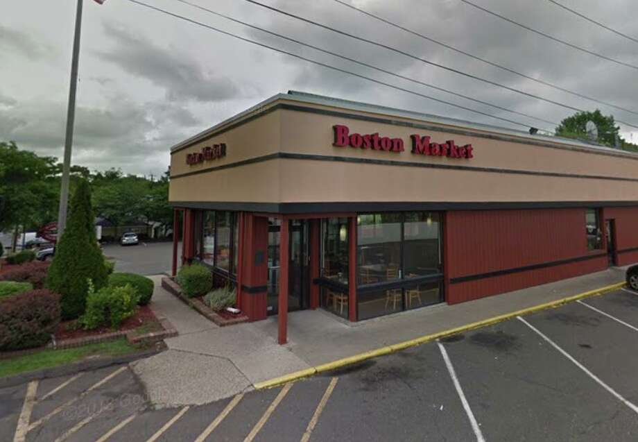 Boston Market 935 Barnum Ave. Score: 87 out of 100 (as of October 23, 2019) Infractions: Potatoes in Cambro hotbox cooled from the day before found at 119 degrees in hotbox set to 190 degrees, product not reheated to 165 degrees prior to placing in hotbox, unclean hand sick, rusted air filters at hot holding reheat area. Source: Stratford Health Department Photo: Google Maps