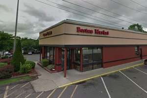 Boston Market   935 Barnum Ave.    Score:  87 out of 100 (as of October 23, 2019)    Infractions : Potatoes in Cambro hotbox cooled from the day before found at 119 degrees in hotbox set to 190 degrees, product not reheated to 165 degrees prior to placing in hotbox, unclean hand sick, rusted air filters at hot holding reheat area.    Source:  Stratford Health Department