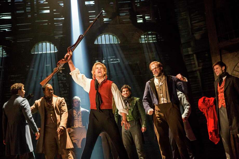 "Matt Shingledecker as Enjolras in ""Les Miserables."" Photo: Matthew Murphy / Contributed Photo"