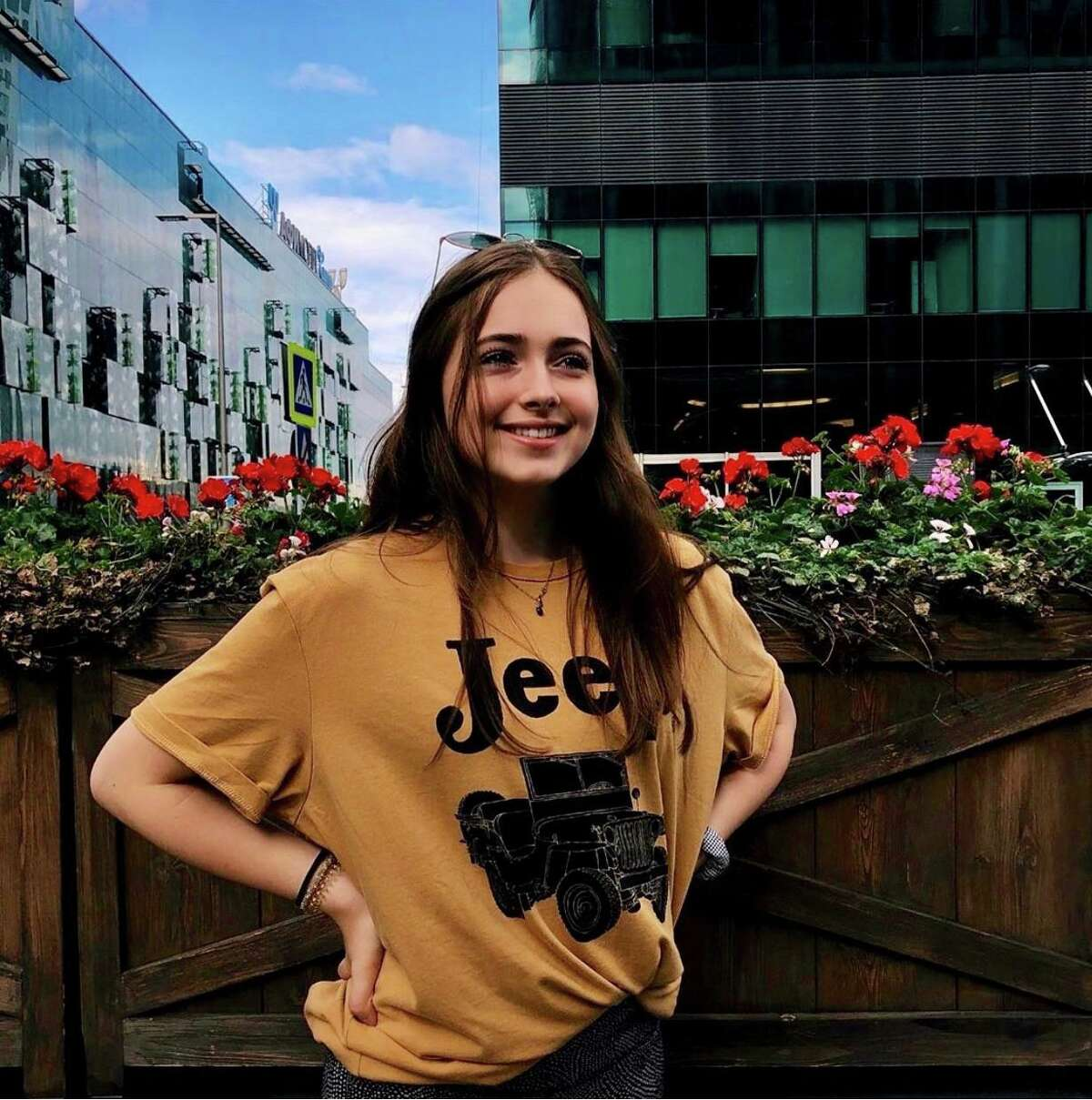 Greenwich Academy studentNatalie Roxana Majd, a Darien resident, recently visited Moscow as part of theNational Security Language Initiative for Youth.