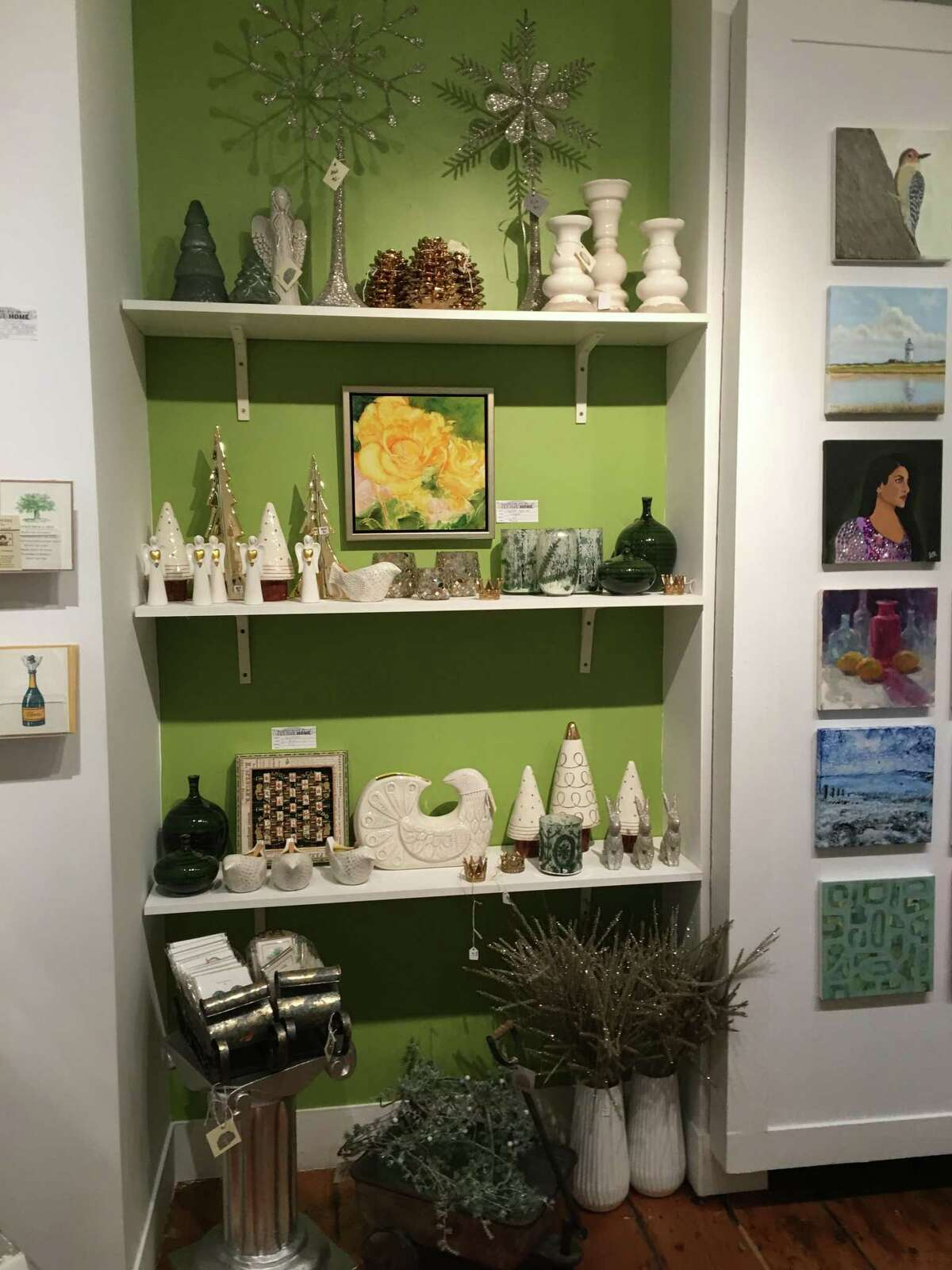 A small peek of what's in store when you visit Festive Home 2019 at Ridgefield Guild of Artists.