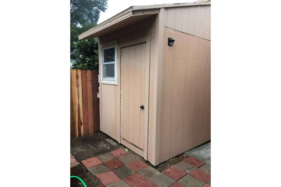 156-square-foot home for rent in Ingleside. Photo: Craigslist