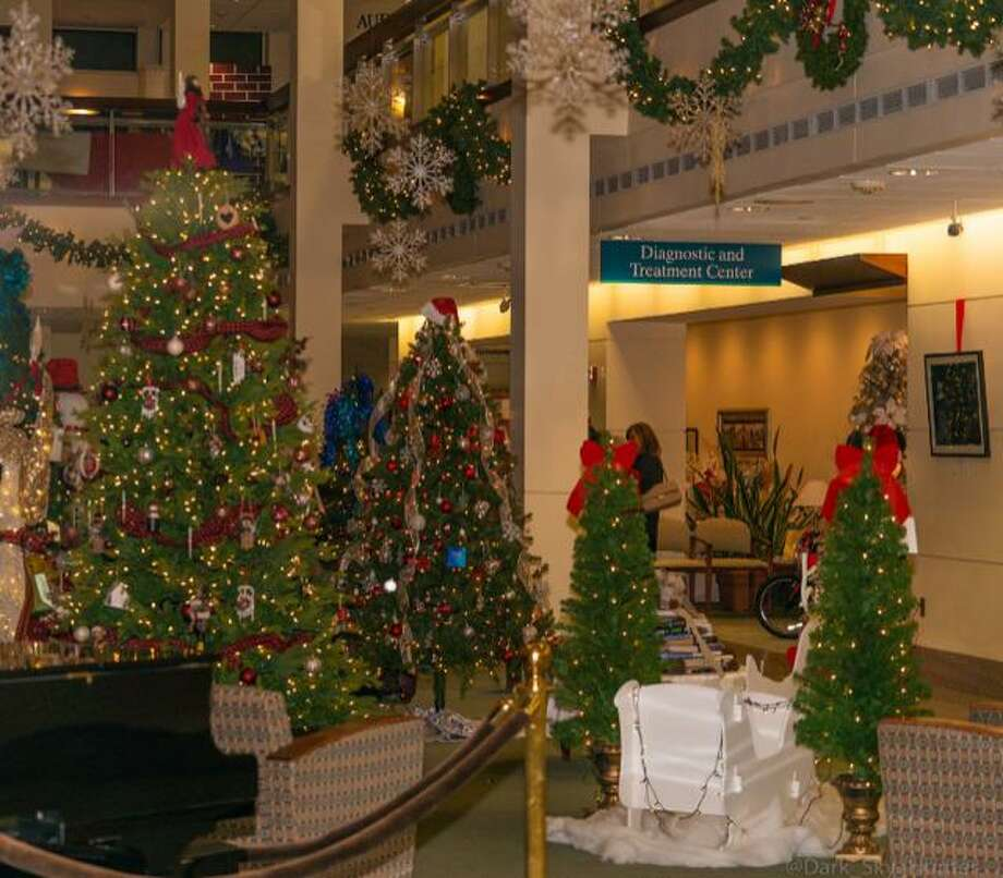 A holiday wonderland of trees and other gift items on display at the 2018 Celebration of Trees event at Milford Campus Bridgeport Hospital. Photo: Contributed Photo.