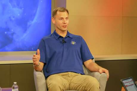 Astronaut Nick Hague wil receive a welcome home celebration Monday at Friendswood City Hall in celebration of his 203-day mission aboard the International Space Station mission.