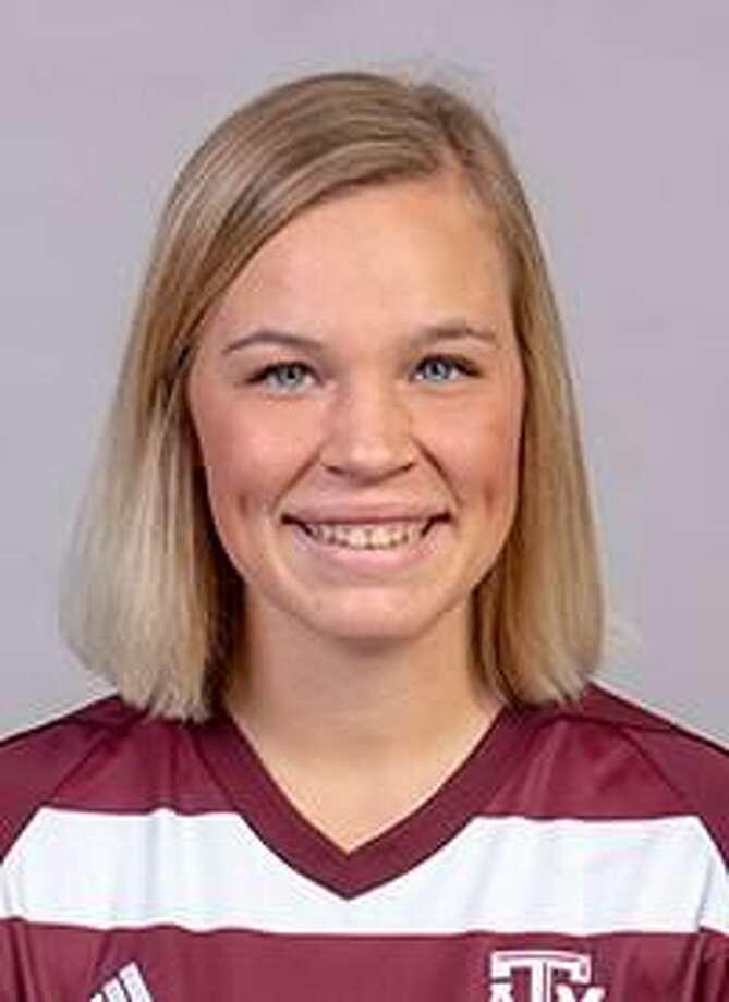Texas A & M soccer player Grace Piper. Photo: Texas A & M Athletics