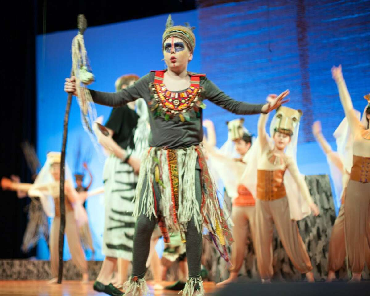 The Wilton Children's Theater will present Disney's The Lion King Jr. Nov. 22-24 at Middlebrook School.